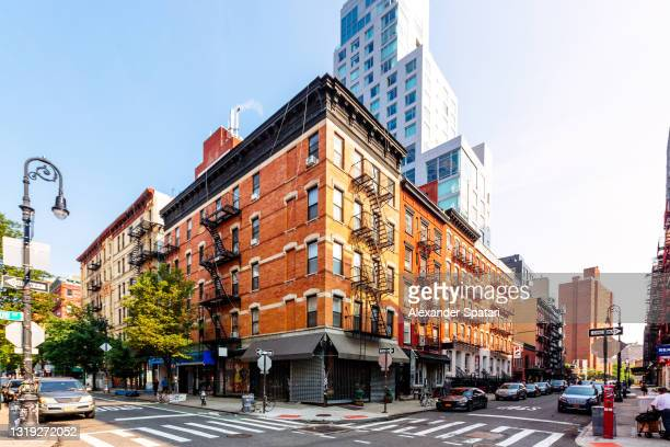 east village district in new york city, usa - east village stock pictures, royalty-free photos & images