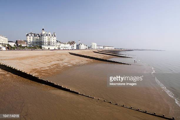 eastbourne in east sussex, england - eastbourne stock photos and pictures