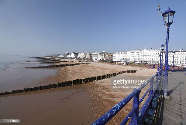 Eastbourne Pier dans le East Sussex, Angleterre
