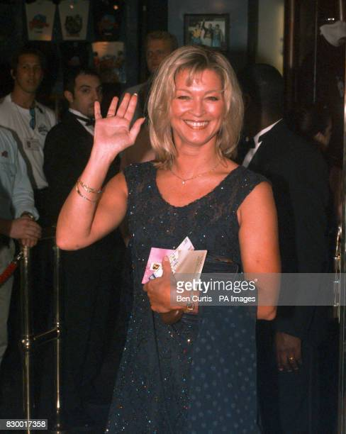 Eastenders actress Gillian Taylforth at the Prince of Wales Theatre Leicester Square London for the BAFTA TV award ceremony