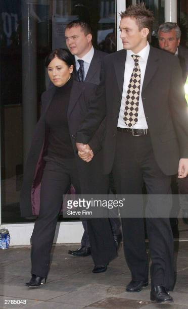 Eastenders actress Jessie Wallace real name Karen Jane Wallace attends her trial for Drink Driving at Southend Magistrates Court on November 27 2003...