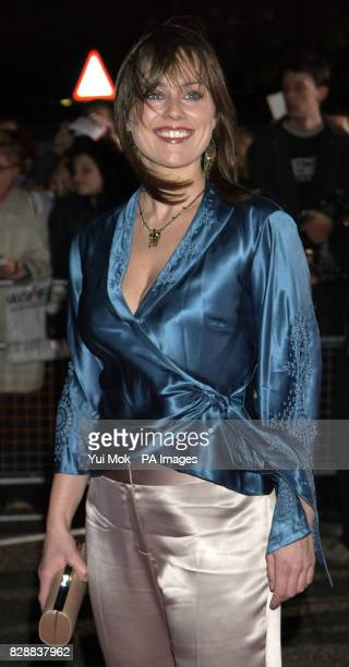 Eastenders actress Jill Halfpenny arrives for the annual National Television Awards at the Royal Albert Hall in central London