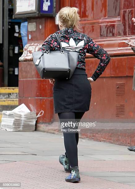 Eastenders actress Lorna Fitzgerald sighting on June 08 2016 in London United Kingdom
