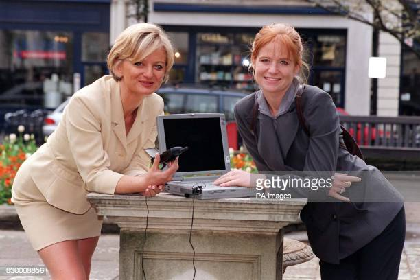 EastEnders actress Patsy Palmer and Watchdog presenter Alice Beer in London today , for a BBC Online photocall to launch its internet service. BBC...
