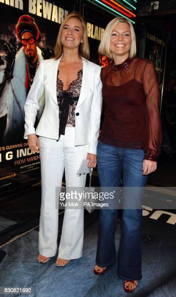 EastEnders actress Tamzin Outhwaite and TV presenter Kate Thornton arriving at the Empire Cinema in London's Leicester Square for the premiere of Ali...