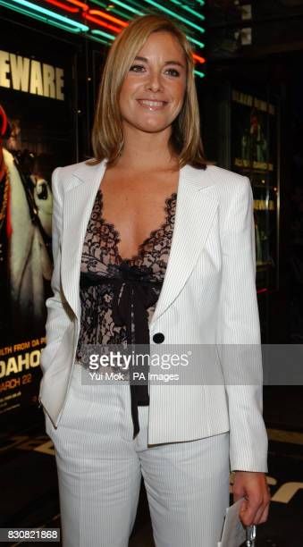 Eastenders actress Tamzin Outhwaite arriving at the Empire Cinema in London's Leicester Square for the premiere of Ali G InDaHouse