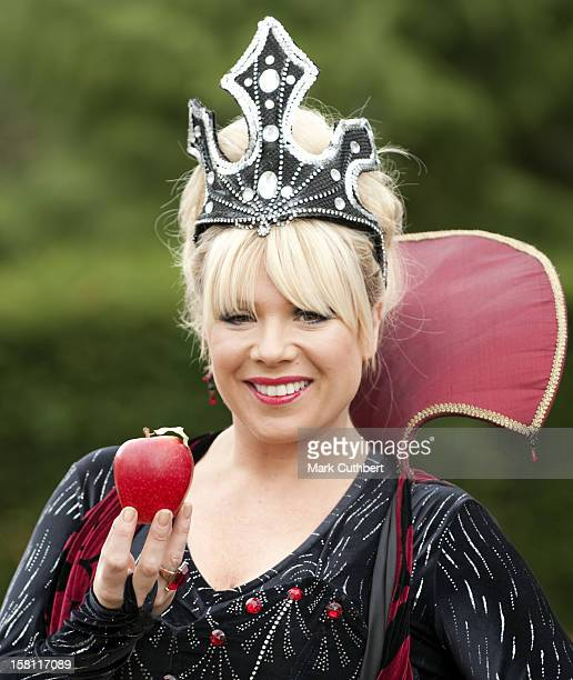 Eastenders Star Letitia Dean At The Photocall For The Launch Of Snow White At Fairfield Hall In Croydon