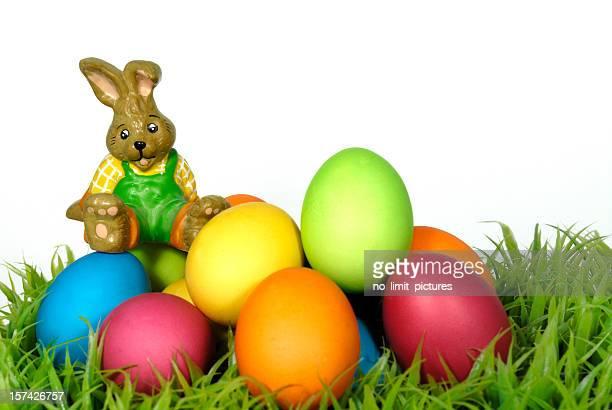 Osterhase mit Eier