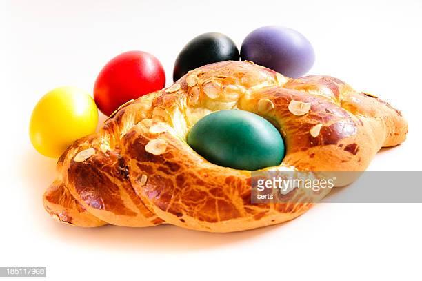 Torta di Pasqua con uova