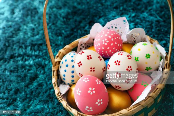easter egg, happy easter sunday hunt holiday decorations - easter sunday stock pictures, royalty-free photos & images