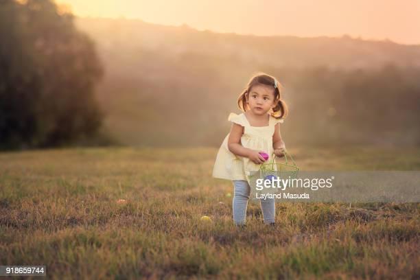 Easter Egg Hunt - 2 Year Old Girl