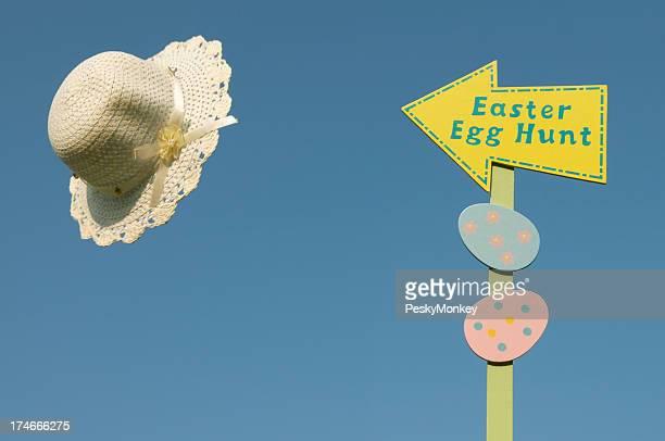 Easter Egg Hunt Blue Sky Bonnet