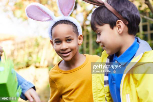 Easter Egg hunt fun.