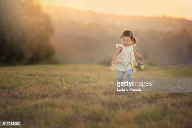 Easter Eggs Found - Toddler Girl