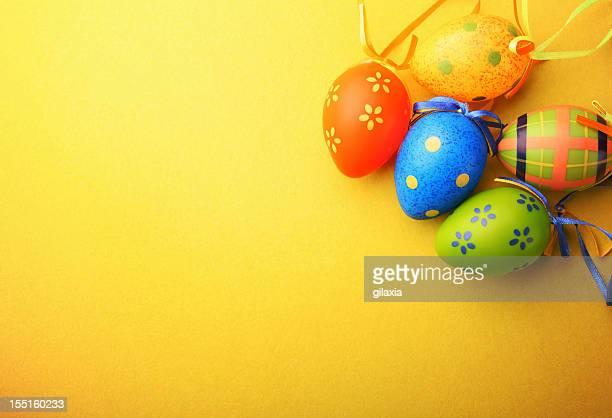 Ovos de Páscoa.