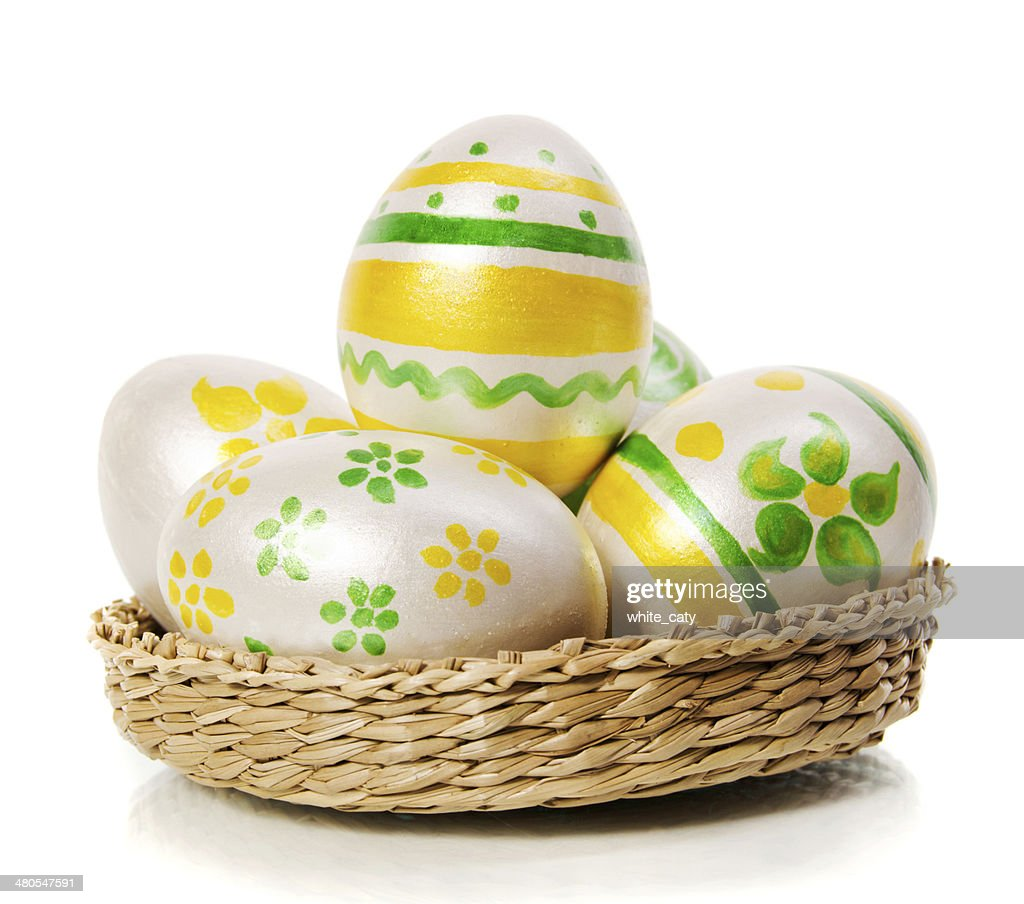 easter eggs : Stock Photo