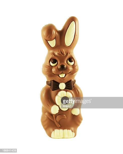easter happy bunny - easter bunny stock pictures, royalty-free photos & images