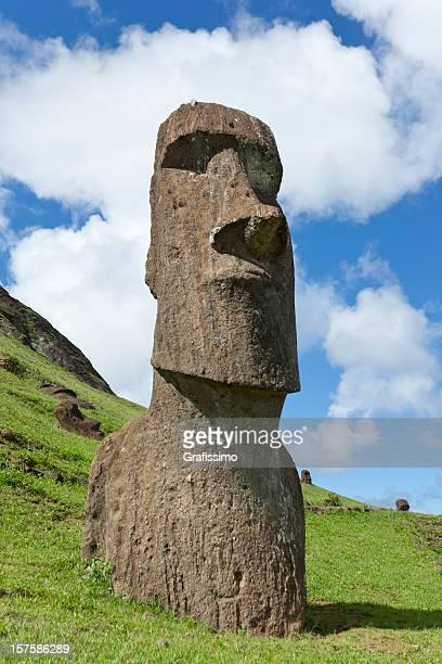 Easter Island Chile Moai Piro-Piro at Rano Raraku