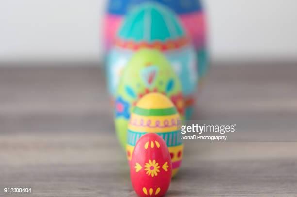 Easter Matryoshka Dolls