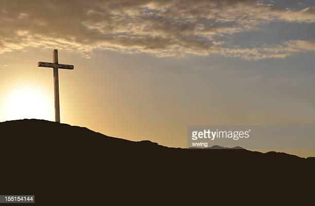 Ostern Morgen Gold robuste Cross