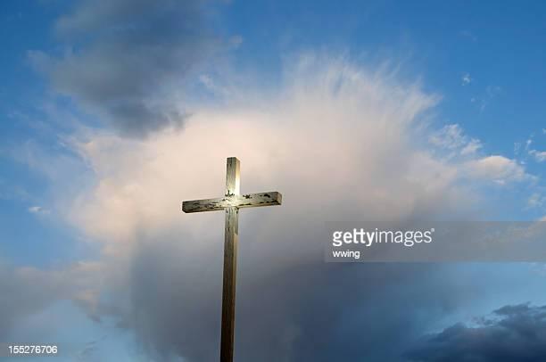 Easter Morning Rugged Cross