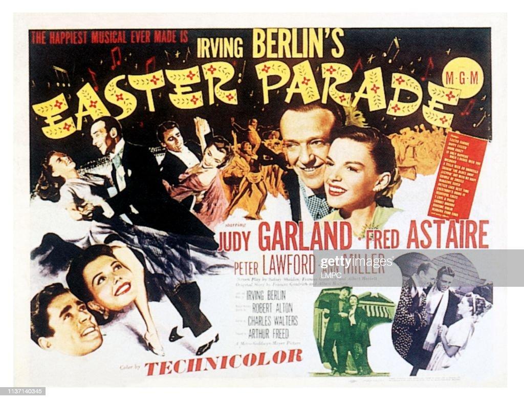 Peter Lawford, Ann Miller, Judy Garland, Fred Astaire, Peter ...