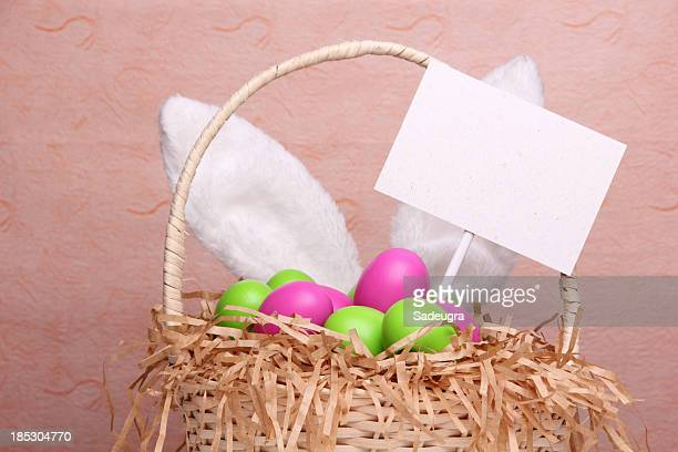 easter - easter basket stock photos and pictures