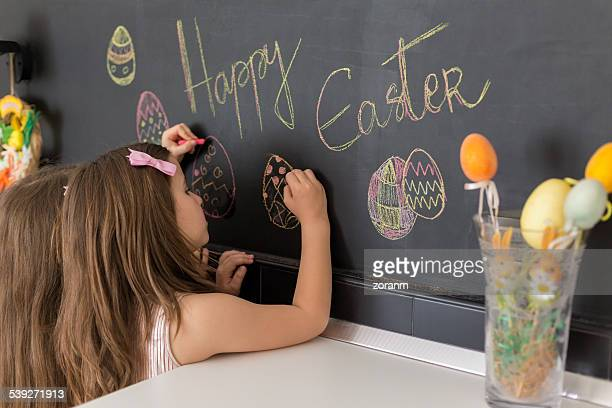 easter - happy easter text stock pictures, royalty-free photos & images
