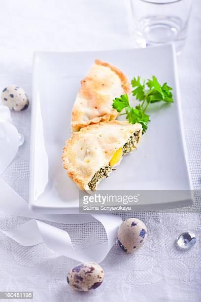 Easter pie. Italy.