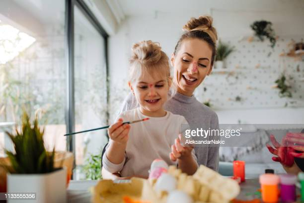 easter preparation in our home - easter photos stock pictures, royalty-free photos & images