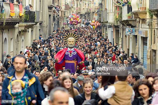 Easter Procession in Caltagirone