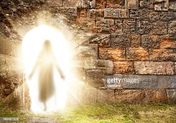 easter. resurrection - christendom stockfoto's en -beelden