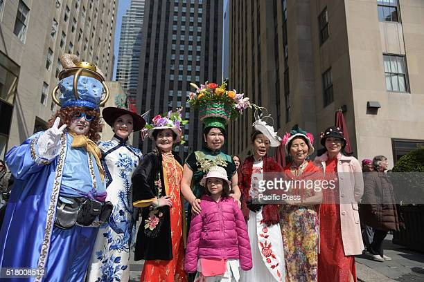 Easter Sunday was marked by the annual Bonnet Parade in Midtown, filling 5th Avenue with hundreds of colorful hats & costumes decorating adults, kids...