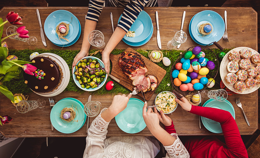 Easter Table 1136671369