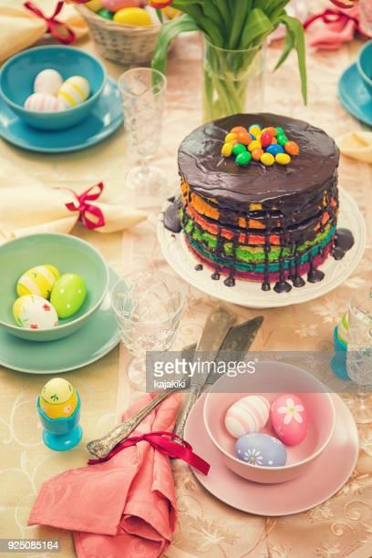 Ostern-Tisch