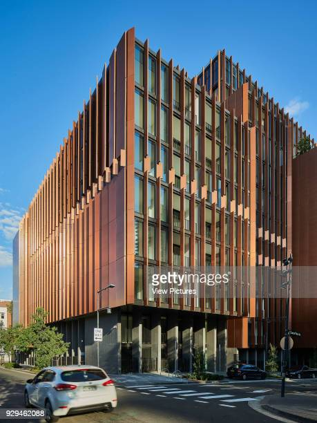 Eastern and southern facades viewed from street Connor Apartments Sydney Australia Architect Smart Design Studio 2017