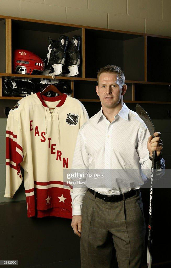 2004 NHL All-Star Portraits : News Photo