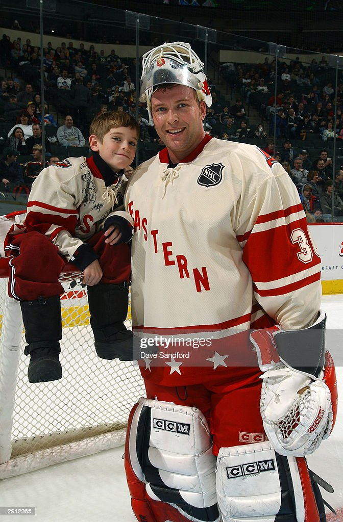 2004 NHL All-Star Game Practice : News Photo