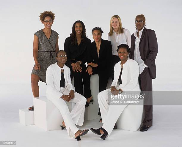 Eastern Conference All Star reserves Nykesha Sales and Shannon Johnson of the Orlando Miracle Tammy SuttonBrown and Dawn Staley of the Charlotte...