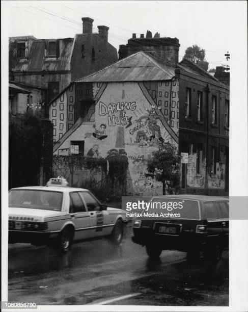 Eastern DistributerSquats house in Palmer Street off William St July 27 1984