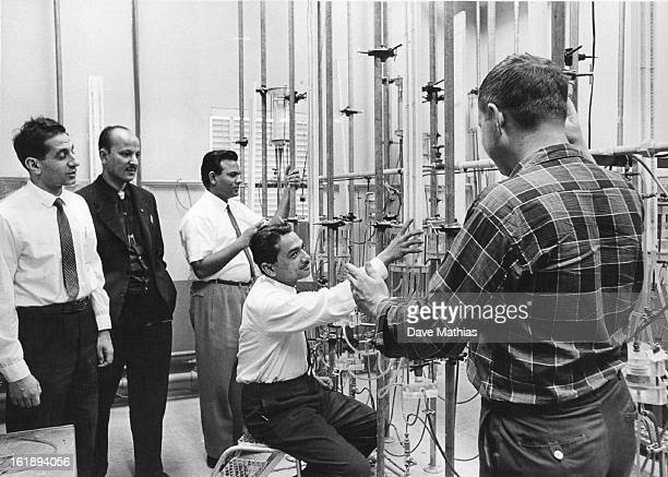 APR 22 1964 APR 24 1964 Eastern Engineers Study Conservation Of Underground Water Taking fourweek course at Denver Federal Center are left to right...