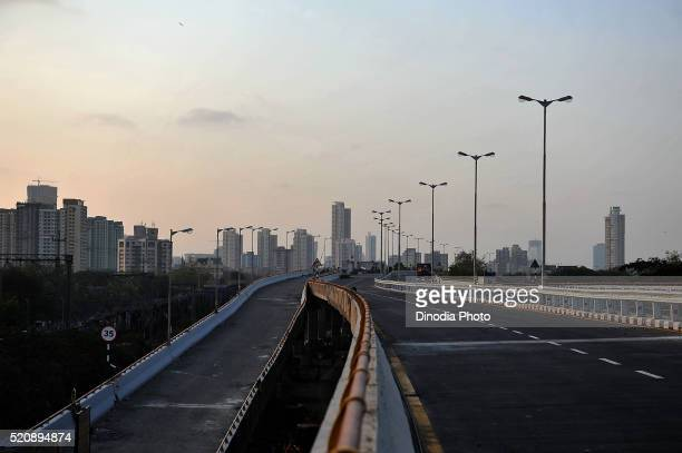 Eastern Express Freeway connects South, Mumbai, Maharashtra, India, Asia