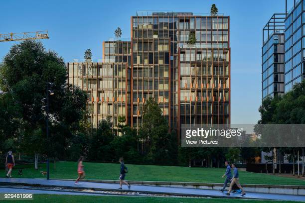 Eastern facade viewed from the park Connor Apartments Sydney Australia Architect Smart Design Studio 2017