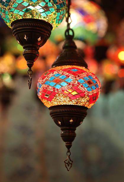Eastern Lanterns Wall Art
