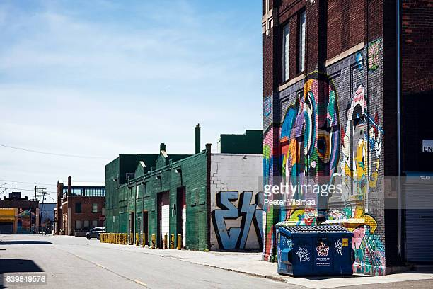 eastern market. detroit, michigan. - east stock pictures, royalty-free photos & images