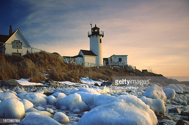 Eastern Point Lighthouse in Gloucster