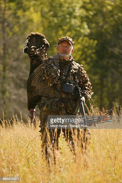 eastern turkey hunters - turkey hunting stock photos and pictures