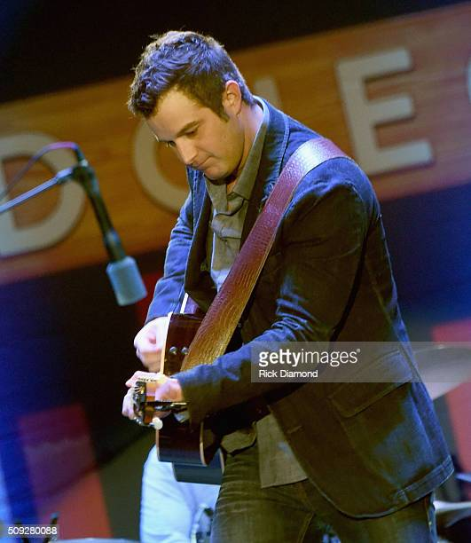 Easton Corbin performs during Grand Ole Opry at CRS Day 1 at Omni Hotel on February 8, 2016 in Nashville, Tennessee.