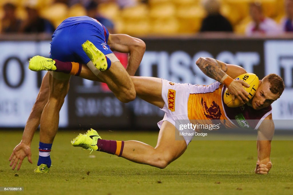 Western Bulldogs v Brisbane - 2017 JLT Community Series : News Photo