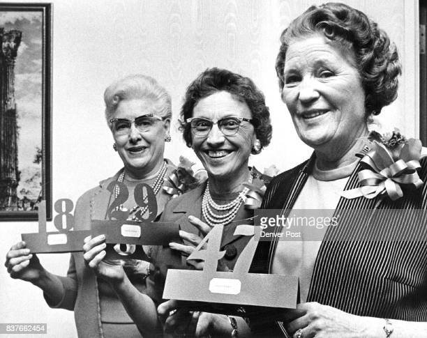 FEB 23 1965 FEB 25 1965 'Easy Life' Ahead Officers of The Title Guaranty Co 1720 California St this week honored three retiring women office employes...